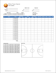 Basketball Stats Excel Template Epic Soccer On Places To Visit Soccer Workouts Soccer