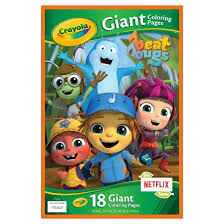 Small Picture Crayola Giant Coloring Pages DC Superhero Girls Target