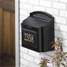 Whitehall Personalized Wall Mount Mailbox Mail Boxes Pinterest