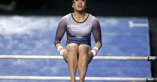 auburn gymnast breaks both legs samantha cerio star college gymnast suffers gruesome leg injuries during floor routine then retires from sport cbs