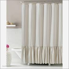 beautiful natural linen blend shower curtain with ruffles standard size great quality best