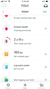 Fitbit Types Chart The Best Fitbits For 2019 Reviews Com