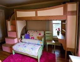 bunk bed with desk and couch. Loft Beds With Desk And Couch Wood Bed . Bunk