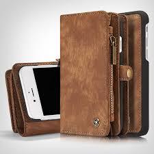 iphone 7 plus wallet case premium folio zipper