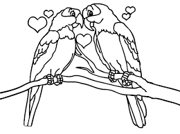 Small Picture Love is All Around Birds Coloring Pages Batch Coloring