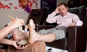 Foot rub gay lover