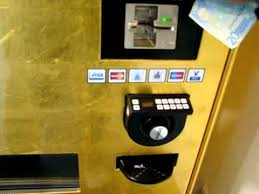 Gold Bar Vending Machine Las Vegas Custom Gold ATM Experience Gold To Go YouTube