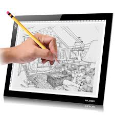 Huion A4 Light Box Us 54 99 Huion 8 27x12 2 A4 Led Light Box Professional Animation Ultra Thin Drawing Board Touch Adjustable Illumination Tracing Pad In Digital