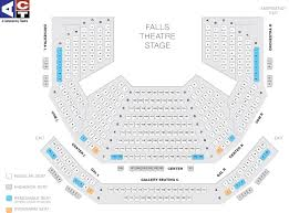 Cornish Playhouse Seating Chart Performance Spaces Act Theatre