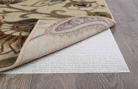 tayse comfort grip ivory 6 round rug pad