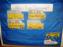 Dismissal Chart Dismissal Chart The Cornerstone For Teachers