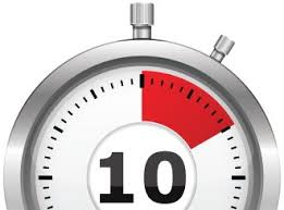 10 Minuite Timer 10 Min Clock Minute Ten Timer Icon 24 Hour Clock Time Now