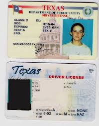 Two texas the drivers id Fun fake licenses template cards download UprpvWg