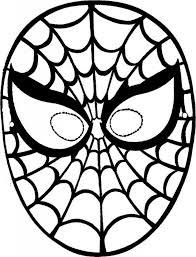 Hayvan Maskeleri Cαrnεval Pinterest Coloring Pages Spiderman