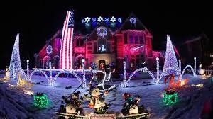 Christmas Lighted Soldiers Best Christmas Lights In Park Ridge Il A Salute To U S Veterans And The Military