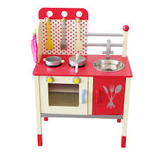 Play Kitchen Berry Toys Cute And Fun Wooden Play Kitchen Reviews Wayfair