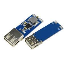 <b>DC</b>-<b>DC 9V/12V/24V to 5V</b> 3A USB Step Down Power Module 2A ...