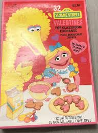 Folks on sesame street have a way of making everyone feel accepted. Vintage 1994 Sesame Street Muppets Big Bird Valentines Day Cards Sealed Nib 7 99 Picclick