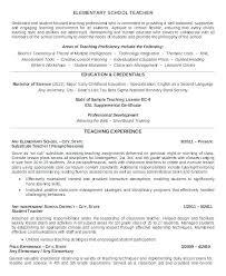 4th Grade Teacher Resume Student Teacher Resume Template Mmventures Co