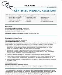 Medical Assistant Cover Letter Stunning Certified Medical Assistant Resume Lovely Medical Assistant Cover Letter