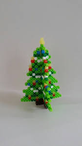 40 Creative Perler Beads Ideas  HativePerler Beads Christmas Tree