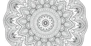 Free Printable Coloring Mandalas Mandala Coloring Pages For Boys