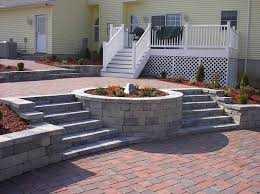 paver patio with fire pit. Paver Patio Fire Pit Ideas With