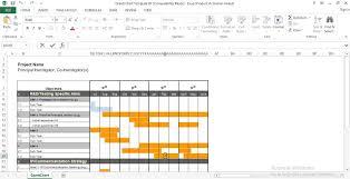 Gantt Chart Excel Freeware Free Gantt Chart Excel Template Engineering Management