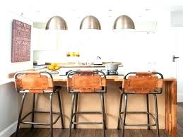 stools black leather counter stools stool with back kitchen island metal wi