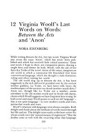 essay feminism books every feminist should from mary  virginia woolf s last words on words between the acts and anon inside