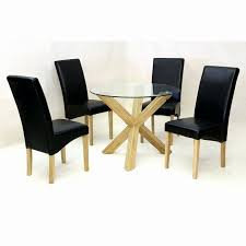 round oak and glass dining table 19 elegant glass top round dining table set