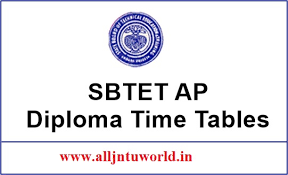 ap sbtet diploma exam time table released c c c ap sbtet diploma exam time table