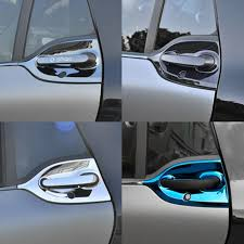 Car Styling <b>Stainless Steel Outer Door</b> Bowl And Handle Protective ...