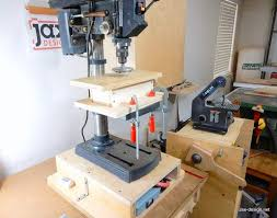 i wanted to build an adjule table for my drill press and wagner safe t planer i do not own a thickness planer but have used this small planer for