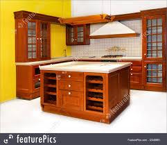 American Kitchen Interior Architecture American Kitchen Stock Photo I2345681 At