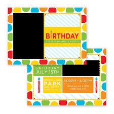 Big Bash Birthday Invitation Card