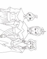 Small Picture Coloring Pages Blue Spirit Gal