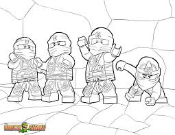 Small Picture Cute Ninjago Coloring Pages 20 mosatt