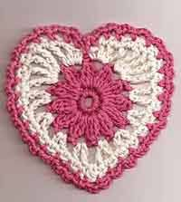 Crochet Heart Pattern Free Delectable Over 48 Free Valentine's And Heart Crochet Patterns At AllCrafts
