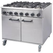 Gas Kitchen Ranges Burco Titan Gas Oven Range Rg90lp Ce667 P Buy Online At Nisbets