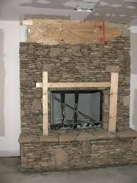 full image for white brick electric fireplace face faux interior design progress kits cast stone surround