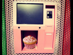 Cupcake Vending Machine Nyc Locations Delectable Cupcake ATM Inhabitat Green Design Innovation Architecture