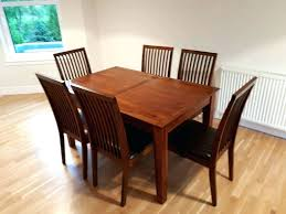 ebay uk dining table. dark wood dining table and chairs ebay uk gumtree 4 d