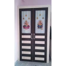 interior hinged pvc glass door rs