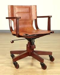 wood desk chair beautiful inspiration wood office chairs brilliant design saddle leather dark wood office chair wood desk chair
