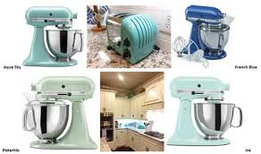 ice blue kitchenaid mixer. Pistachio Echoes The Vintage Green Items On Top Of Cabinets, And Ice? It\u0027s Just Pretty. So If You Were To Choose One These For My Kitchen, Ice Blue Kitchenaid Mixer M