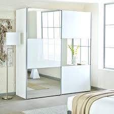wardrobes wardrobe with mirror door loft two door sliding wardrobe white glass with mirror sliding