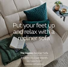 recliner sofas leather fabric and
