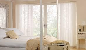 g budget blinds sliding door white vertical blinds