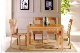wood dining table set dining room glamorous solid wood sets round glass and wood dining table